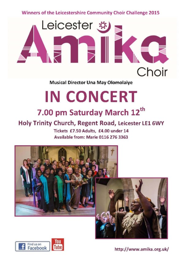 Amika choir in concert